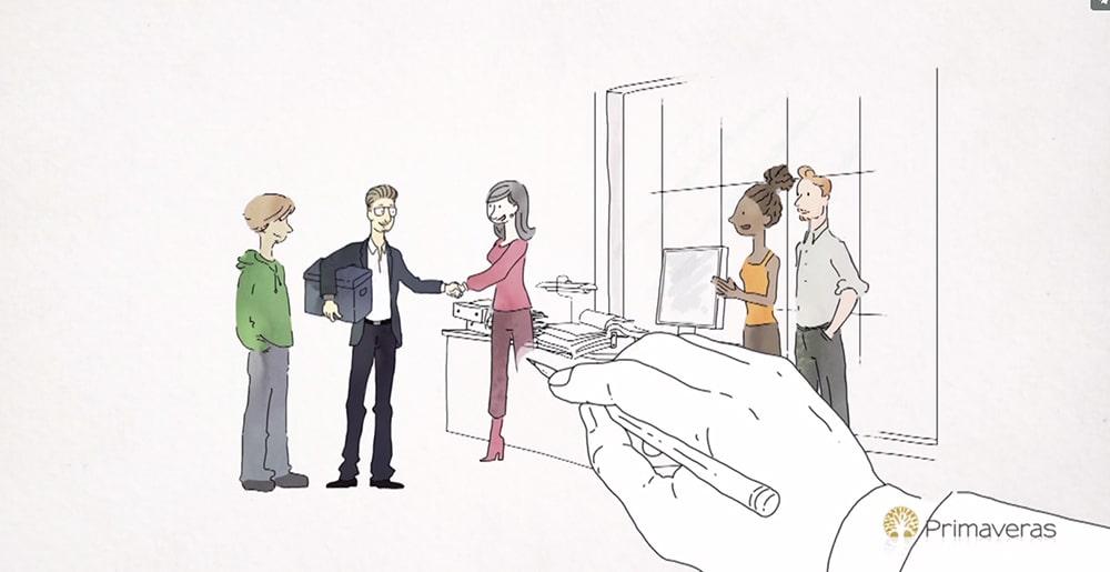 29-09-17ArticleVideoDessinee_Image01 Qu'est-ce qu'une vidéo explicative dessinée ?