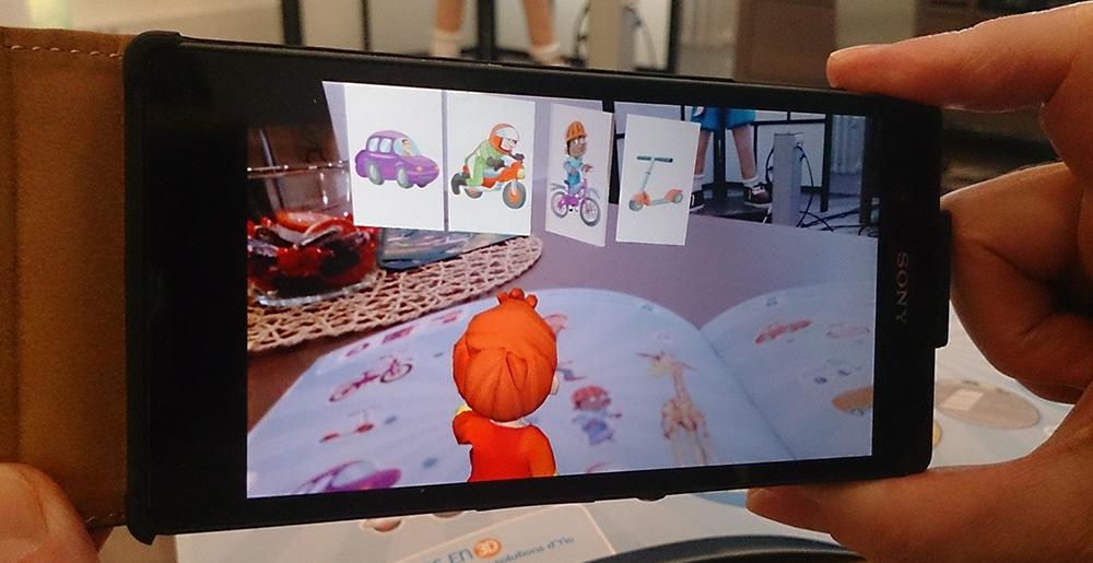 23-10-17Article_LivreRealiteAugmentee_Image01 De la 3Ddans le livre en réalité augmentée