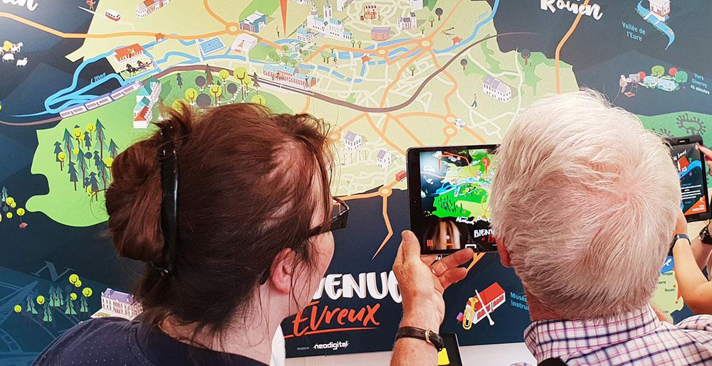 ArticleEvreuxTour-Image01 VOTRE CARTE DU TERRITOIRE EN RÉALITÉ AUGMENTÉE